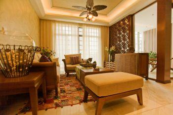 东南亚风格四居室装修效果图