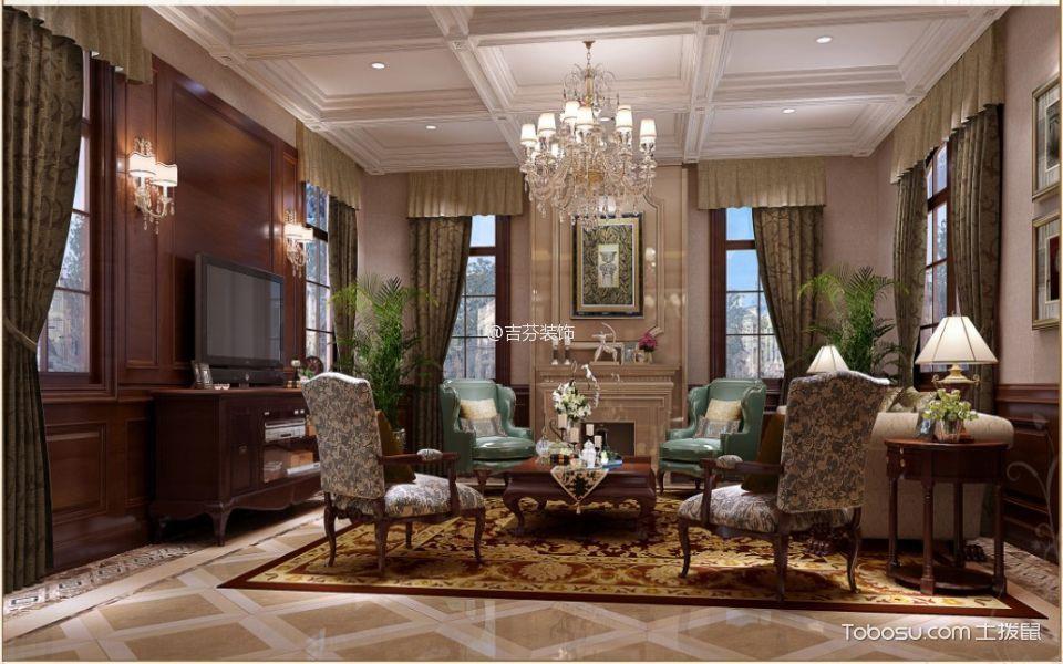2020法式150平米效果图 2020法式别墅装饰设计