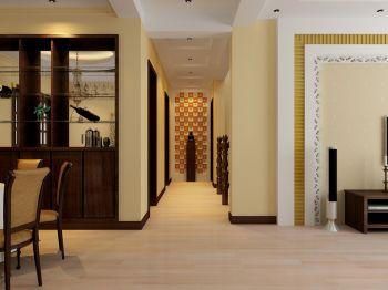 卧室走廊混搭风格装潢图片