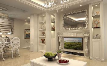 白色欧式浪费小别墅装修效果图