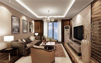 海亮九玺三居室现代简约风格效果图