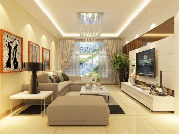 两室两厅温馨简约风装修效果图