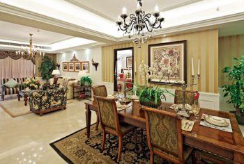 经典欧式风格四居室装修案例设计图