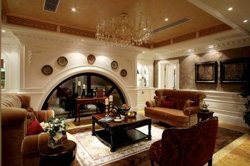 典雅美式风格复古别墅装修效果图