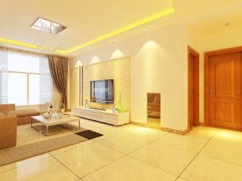 80平米二居室简约风格家庭装修效果图