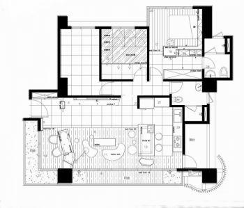 2019田园150平米效果图 2019田园二居室装修设计