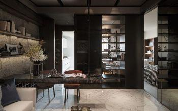 现代新古典豪华一居室装修效果图