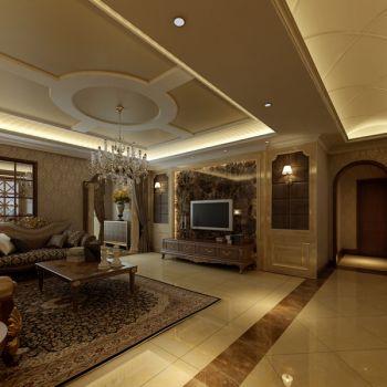 典雅简奢木质欧式风格装修效果图