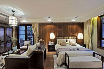 橡树湾中式风格四居室装修效果图