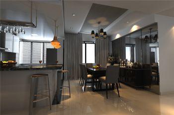 餐厅吧台简约风格装修效果图