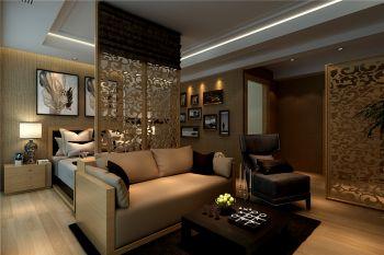 中铁生态城现代风格四居室装修设计图