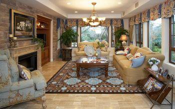 7万预算120平米四室两厅装修效果图