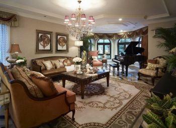 8万预算120平米四室两厅装修效果图