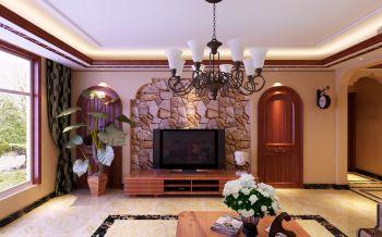 盛益华苑C户型164平米四室两厅东南亚风格装修效果图