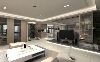 现代简约设计风格两居装修效果图