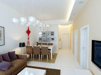 现代简约60平米小面积家居装修效果图