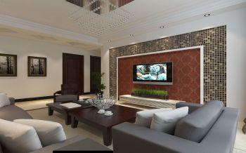 现代豪华套房设计效果图