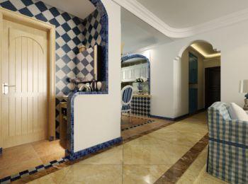 卫生间隔断地中海风格装修设计图片