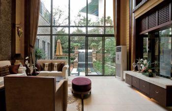 现代东南亚风格四居室装修图片