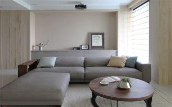 现代简约木色两室两厅装修图片