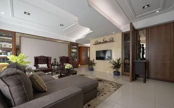 现代风格豪华一居室装修图片