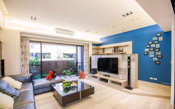 银湖水榭现代风格复式别墅装修效果图