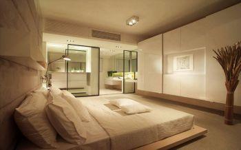 卧室米色榻榻米日式风格装饰效果图
