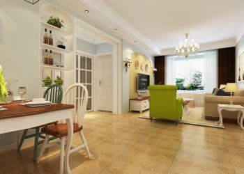 餐厅黄色走廊混搭风格装修图片
