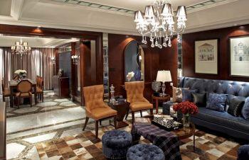 四居室家庭欧式新古典装修效果图