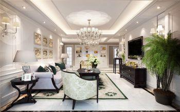 丰大国际四居室简欧风格效果图
