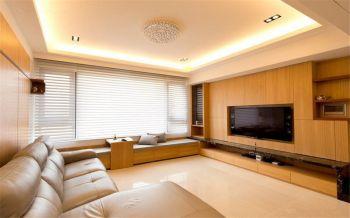 原木风简约风格两室设计案例图