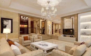别墅室内家装设计现代欧式风格效果图