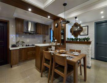 田园风格小公寓装修案例图片