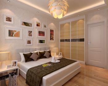 富城湾130平三室二厅现代时尚风格装修效果图