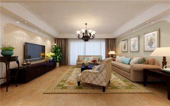 和平盛世四居室简欧风格效果图