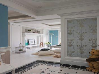 玄关地中海风格装潢设计图片
