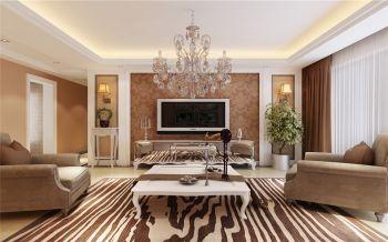 金棕园三居室现代风格效果图
