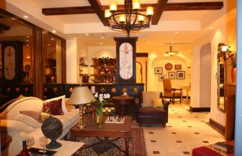 家庭四居室美式风格设计案例图