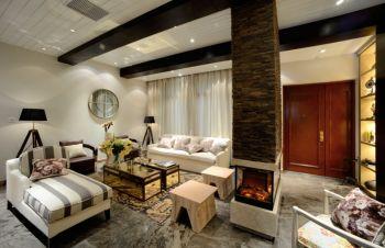 三室户型家居简欧风格设计案例图