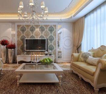 融侨天骏复式家居欧式风格装修效果图