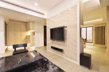 御龙湾三居室现代简约装修案例实景图