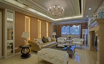 金帝海珀欧式风格四居室装修案例图片