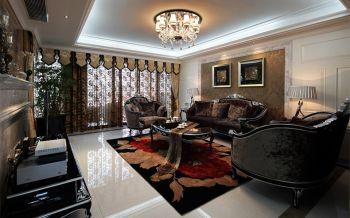 天鸿香榭里欧式风格三居室装修案例图片
