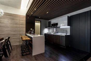 厨房吧台简约风格装潢图片
