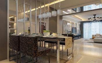 餐厅简约风格装饰设计图片