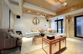 三室两厅家居简欧装修案例实景图片