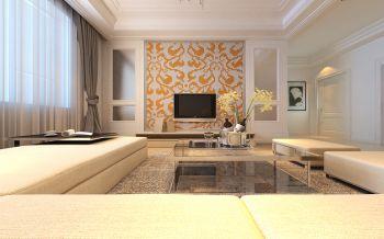 夏洛滋花园现代简约风格时尚三居室案例设计效果图