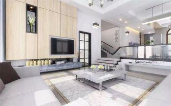 简约320平别墅四居室装修效果图
