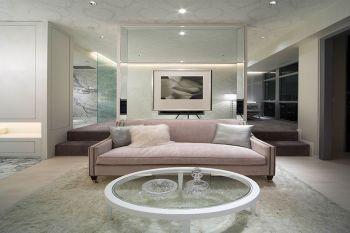 路劲太阳城白色简欧三居室装修案例图