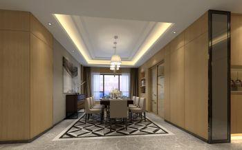 半山道一号简中式三居室装修设计图